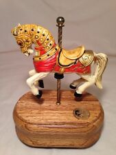 "NEW Carousel Collection #303 Carousel Horse Music Box ""The Carousel Waltz"""