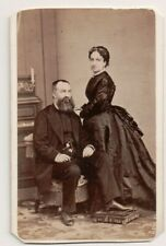 Vintage CDV Duke & Duchess of Montpensier J. Laurent Photo Madrid