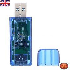USB 2.0 / USB 3.0 OLED CARICABATTERIE Tensione Corrente Meter Power Capacity RIVELATORE n34y