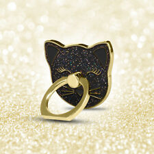 Cell Phone Finger Ring Kickstand Holder 360 Rotation Universal, iFab Hello Kitty