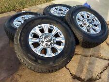 "18"" Ford F-250 F-350 OEM 2018 2019 chrome rims wheels tires 2016 2017 10097 NEW"