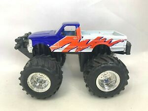 Maisto Ford F-150 SQUARE BODY Crusher Monster Truck w/ Pull Back Action 4""