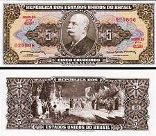 BRASILE Brazil - 5 Cruzeiros 1964  FDS - UNC