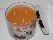 Bath & Body Works Pumpkin Cupcake Scented filled Candle 14.5oz in large jar