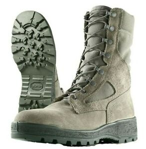 MCRAE AIR FORCE TEMPERATE WEATHER MILITARY GREEN WOMEN'S BOOTS -Size 8.5 W F