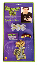 Rappers Delight Bling Necklace Ring and Grill Kit