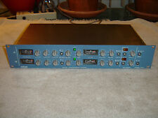 Orban 424A, XLR in/out 2 Channel Gated Compressor Limiter Deesser, Vintage Rack