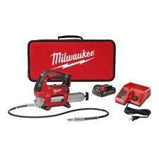 Milwaukee Cordless Grease Gun 18-Volt Lithium-Ion 2-Speed Battery Charger Bag