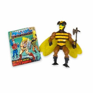 Vintage He Man Buzz Off (Complete) 1983 Mattel MOTU Masters of the Universe 1001