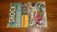 SHOCK SUSPENSTORIES #3, VINTAGE EC COMIC, GOOD