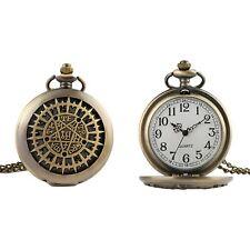 Pentagram Quartz Pocket/Fob Watch Goth Gothic Satanic Steampunk/Victorian/Weddin