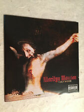 MARILYN MANSON CD HOLY WOOD NOTHING 490 790-2 2000 ELECTRONIC ROCK