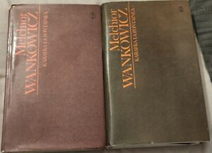 KARAFKA LA FONTAINE'A Melchior Wankowicz   Hardback 1983   Polish book