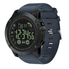 Black Mens Smart Watch Waterproof Military Sport Grade Super Tough Tact Outdoor