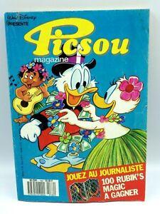 Livre BD Picsou Magazine N° 182 1987