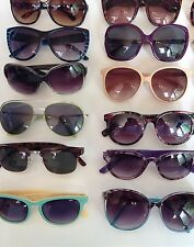 WHOLESALE JOB LOT ~ 25 PAIRS OF VINTAGE SUNGLASSES Each Lot Varies