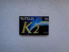 10 Cassette Audio Vierge Fuji Extraslim 90min - K7 Chrome