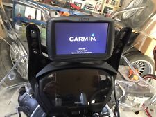 Garmin Zumo 590 LM Lifetime Maps all Cables Car & Bike Mounts, Case and Manuals