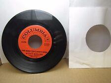 Old 45 RPM Record - Columbia 4-41473 - Kitty Kallen - The Door That Won't Open