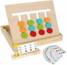 Montessori 4 Color Puzzle Game For Children-logic Games For Learning Colors