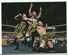 WWE NXT Undisputed Era ADAM COLE/RODERICK STRONG/KYLE O'REILLY Signed 8x10 Photo