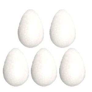 Easter Decorations, Bonnet Arts and Crafts, Egg Hunt - 5 Pack Foam Eggs