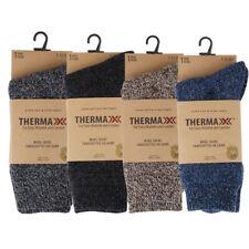 Thermaxxx Wool Cotton Super Warm Heavy Duty Soft Work Winter Boot Socks Sz 7-12