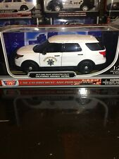 1/24 California Highway Patrol CHP Ford Police Interceptor