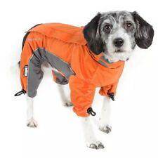 New listing Dog Helios Orange Blizzard Full-Bodied Adjustable and 3M Reflective Dog Jacket,
