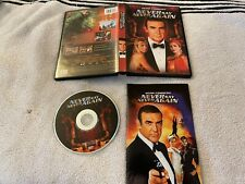 NEVER SAY NEVER AGAIN (1983) DVD W/ INSERT RARE OOP SEAN CONNERY JAMES BOND 007