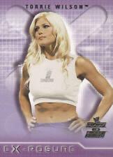 TORRIE WILSON  2002 Fleer WWE DIVAS EXPOSURE Insert Card #9XP  EX-POSURE