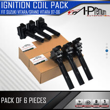 6x Ignition Coils Pack for Suzuki Vitara Grand Vitara 1997-2006 2.0L 2.5L 2.7L