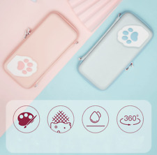 Kawaii Cat Paw Carrying Case Pouch Bag for Switch/Switch Lite Sweet Game Console