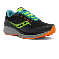 Saucony Mens Canyon TR Trail Running Shoes Trainers Sneakers Black Sports