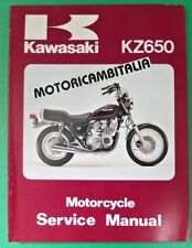 KAWASAKI KZ Z 650  CSR  SR MANUALE OFFICINA LIBRO MANUAL SHOP SERVICE BOOK