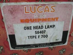 Sunbeam Alpine NOS Lucas 58407 headlamp with painted rim also fits Sunbeam Tiger