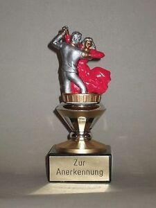 """Einzel-Pokal """"Tanzen"""" mit Wunschgravur (BISO)."""