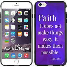 Religious Faith Scripture For Iphone 6 Plus 5.5 Inch Case Cover