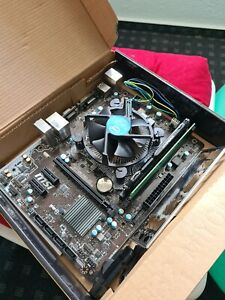 Pentium g4400 + H110M Pro +6-8 GB Ram
