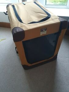 Orvis Field Collection Dog Crate Working Transport Cage Collapsible Large