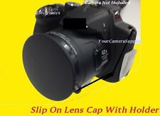 LENS CAP DIRECTLY TO CAMERA FUJI S2000HD S2100 FinePix S2000 HD 2000HD + KEEPER