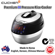New Cuchen Rice Cooker IH Induction Pressure Multi 10 Cups Korean Made 240V 50Hz