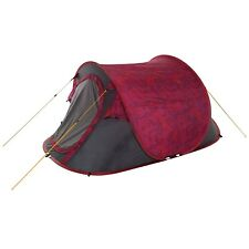Regatta Malawi 2 Printed 2 Man Pop-Up Tent With Pattern Pink Tropical