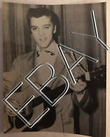 ELVIS RARE CANDID ORIGINAL 3x5 PHOTO ELLIS AUDITORIUM MEMPHIS Feb 1956  076