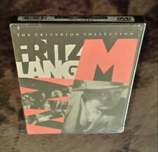 Fritz Lang's M (DVD, Criterion Collection, 1998) film First Printing NEW! 30
