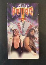 Vintage Wrestling WCW: Halloween Havoc 1993 VHS - Cactus Jack Vader Flair Sting
