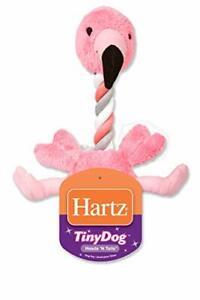 Hartz Tiny Dog Heads n' Tails Plush Rope Dog Toy  Color and Toy Design May Vary