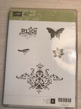 Stampin' Up! Bliss RARE SAB Stamp Set New Opened But Never Used
