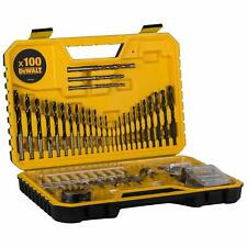 Dewalt Combination Drill Bit Set,100 Pieces   DT71563-QZ