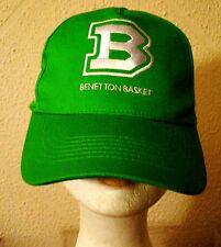 Original Benetton Basket Treviso Pallacanestro Treviso Basketball CAP HAT Nice!!
